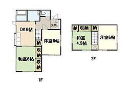 [一戸建] 広島県広島市西区己斐上3丁目 の賃貸【/】の間取り