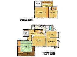 [一戸建] 茨城県つくば市二の宮3丁目 の賃貸【/】の間取り