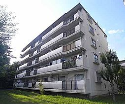 京都府京都市西京区大枝西新林町二丁目の賃貸マンションの外観