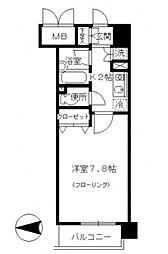 東京都豊島区南長崎3丁目の賃貸マンションの間取り