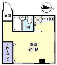 メゾンP&D[3階]の間取り