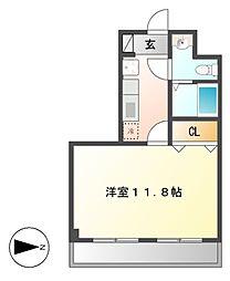 アイコート六番[4階]の間取り
