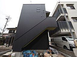 愛知県名古屋市中村区熊野町1丁目の賃貸アパートの外観