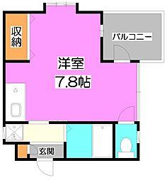 Verde〜ヴェルテ〜[3階]の間取り