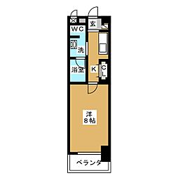CASSIA大曽根[11階]の間取り
