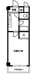 新大阪エクセルハイツ[10階]の間取り