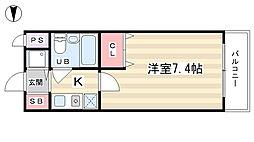 ルミネスプラザ[2階]の間取り