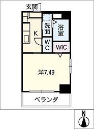 UNROOM[5階]の間取り