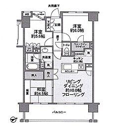 ファインレジデンス昭島中神[306号室]の間取り