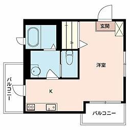 シャーメゾン王子[3階]の間取り