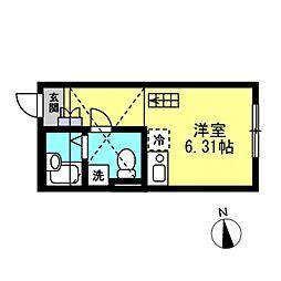 SJ House IV[105号室]の間取り