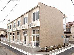 東京都葛飾区堀切4丁目の賃貸アパートの外観