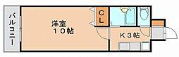 メモアール東比恵[4階]の間取り