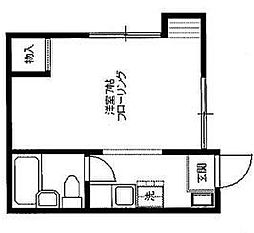 田中荘[101号室]の間取り