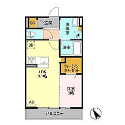 TT Annex /[3階]の間取り