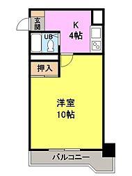NOAマンション[709号室]の間取り