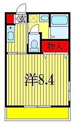 グランメール西船[1階]の間取り