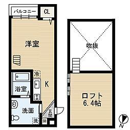 MYUV[2階]の間取り
