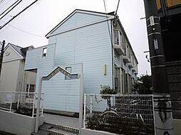 千葉県船橋市咲が丘2丁目の賃貸アパートの外観