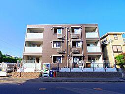 埼玉県朝霞市浜崎3丁目の賃貸アパートの外観