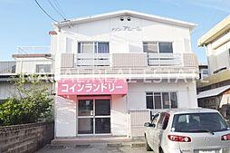 徳島県徳島市新浜町3丁目の賃貸アパートの外観