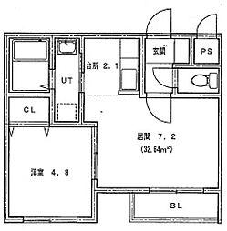 仮)北14条東1丁目MS[403号室]の間取り