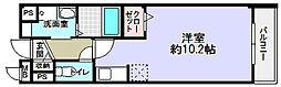 コンフォート・アザレア2番館[1階]の間取り