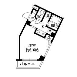 オリーブハウス[302号室]の間取り
