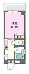 ドミマンション[4階]の間取り