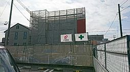 栃木県宇都宮市陽東5丁目の賃貸アパートの外観
