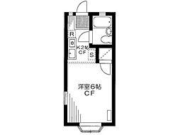 グリーンコート新高円寺[1階]の間取り