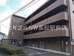 香川県高松市檀紙町の賃貸マンションの外観