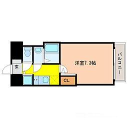 S-RESIDENCE新大阪Ridente[2階]の間取り