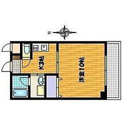 Tsゲート[2階]の間取り