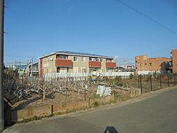 愛知県北名古屋市沖村山ノ神丁目の賃貸アパートの外観