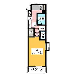 メゾン ド フォーレ[4階]の間取り