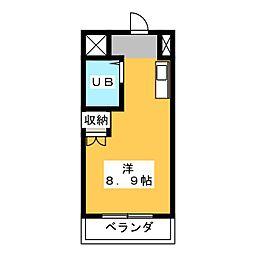 磐田グレイス第1マンション[2階]の間取り