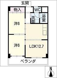 MKビル[3階]の間取り
