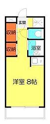 パブリックハイム3号館[4階]の間取り
