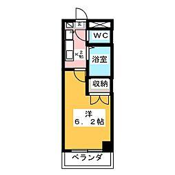 リバーコートセト[3階]の間取り