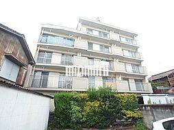 愛知県清須市西枇杷島町日の出の賃貸マンションの外観