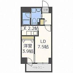 LEE東札幌B[7階]の間取り