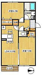 クリアコート[3階]の間取り