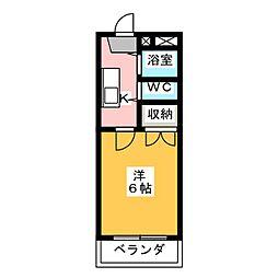 ピアモトマチ[1階]の間取り