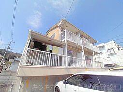 広島県広島市東区温品5丁目の賃貸アパートの外観