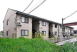 徳島県板野郡北島町中村字井利ノ口の賃貸アパートの外観