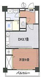 サンパークマンション本郷[5階]の間取り