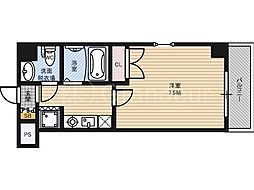 セレブ盛都[2階]の間取り