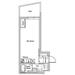 スペリオール白金台[1階]の間取り