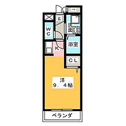 マンション・マーレ[1階]の間取り